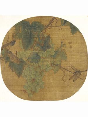 林椿 《葡萄虫草》
