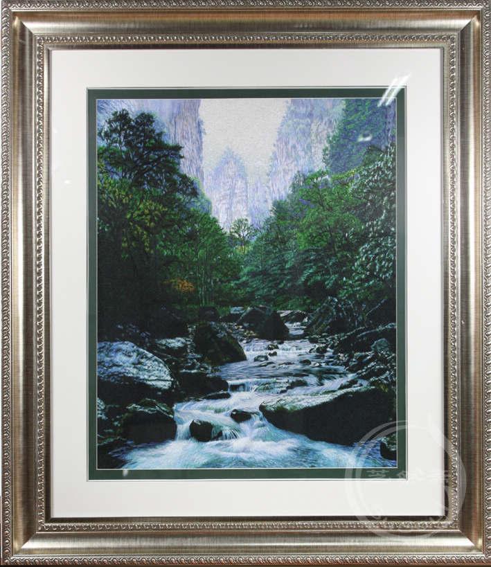 金鞭溪 单面绣-风景
