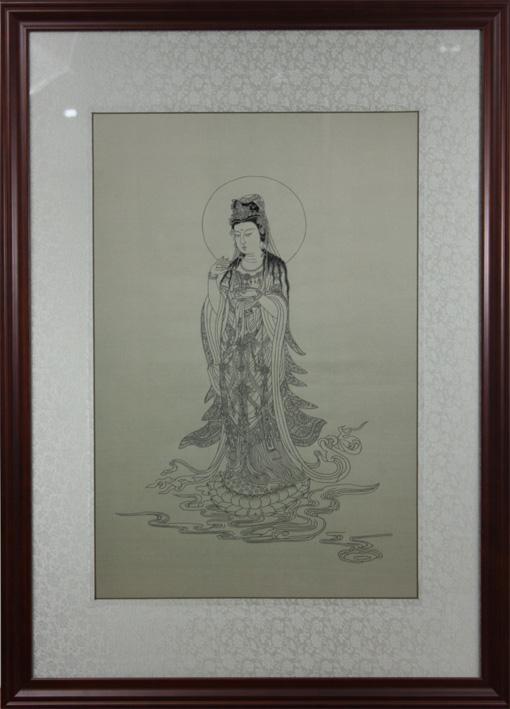 观音菩萨 苏绣佛像