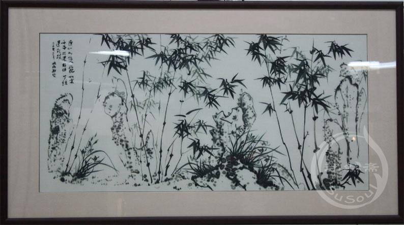 板桥竹 苏绣竹子