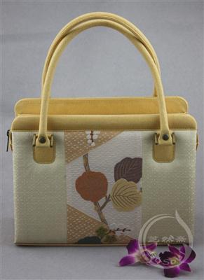 刺绣手袋 西阵织挎包