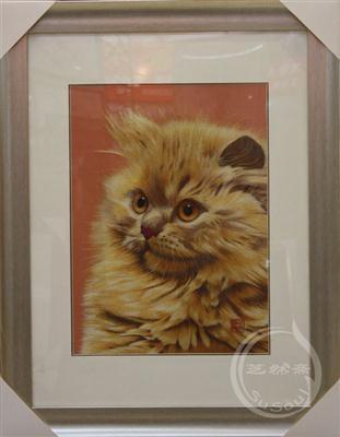 黄猫 苏绣小猫