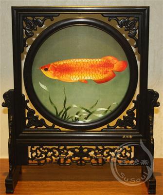 金龙鱼 双面绣鱼