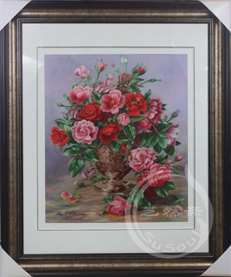 静物 古典插花