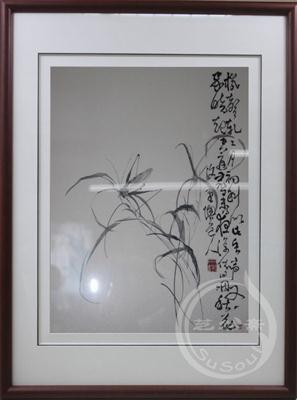 李鱓草虫 顾绣精品