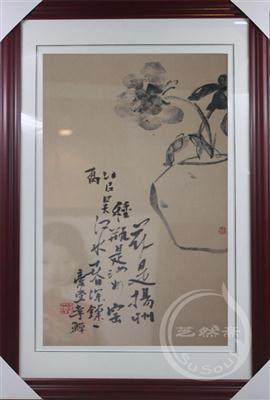 李鱓花卉 顾绣精品